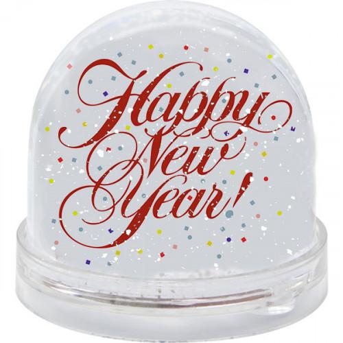 Sniega bumba ''Happy New Year''