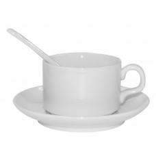 Tējas komplekts ar apdruku.