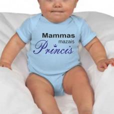 """""""Mammas mazais Princis"""" bērnu bodijs ar termoapdruku"""