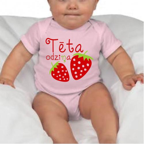 """Tēta odziņa""   Боди для младенца"