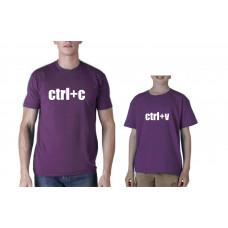 """""""Ctrl+C Ctrl+V"""" t-kreklu komplekts"""