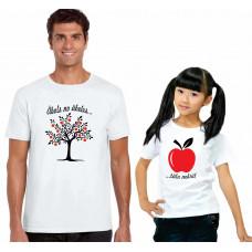 """""""Ābols no ābeles..."""" t-kreklu komplekts"""