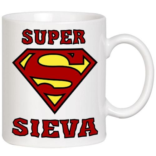 """""""Super Sieva"""" Krūze"""