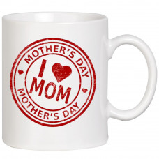 "Krūze ""I Love Mom"""