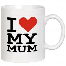 "Krūze ""I Love My Mum"""