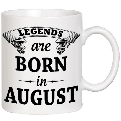 """Legends are born in ... ""  Кружка"
