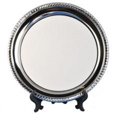 Šķīvis metāla dekoratīvais D= 250 mm, ar ardruku