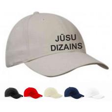 Cepure 6-paneļu ar apdruku