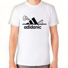 """adidanic"" T-krekls vīriešu ar termoapdruku"