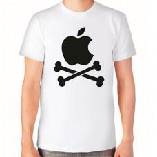 """""""apple"""" T-krekls vīriešu ar termoapdruku"""
