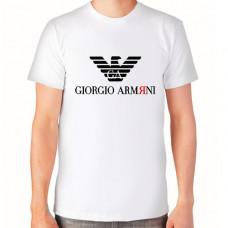 """Giorgio Armяni"" T-krekls vīriešu ar termoapdruku"