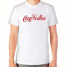 """""""Coca-Vodka"""" T-krekls vīriešu ar termoapdruku"""
