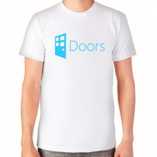 """""""Doors"""" T-krekls vīriešu ar termoapdruku"""