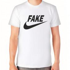 """""""Fake"""" T-krekls vīriešu ar termoapdruku"""