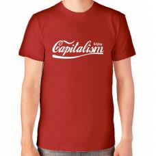 """""""Enjoy Capitalism"""" T-krekls vīriešu ar termoapdruku"""