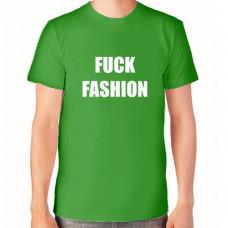 """Fuck Fashion"" T-krekls vīriešu ar termoapdruku"