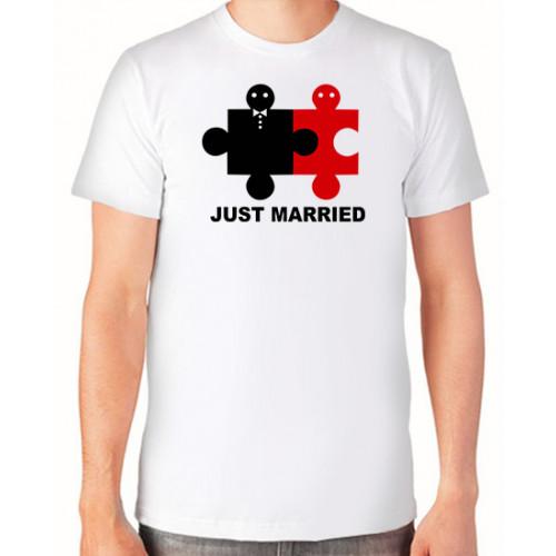 """Just married"" Vīriešu T-krekls"