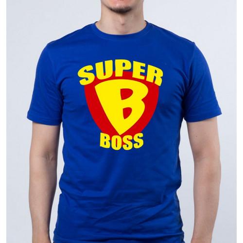 """""""Super Boss'' Футболка мужская"""