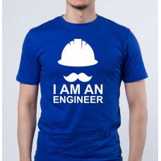 """""""I Am an Engineer"""" T-krekls vīriešu ar termoapdruku"""