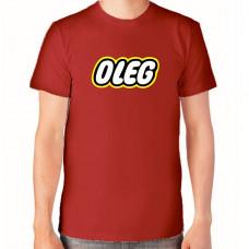 """""""Oleg"""" T-krekls vīriešu ar termoapdruku"""