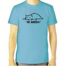 """""""Ne šodien"""" T-krekls vīriešu ar termoapdruku"""