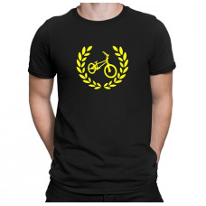 """""""bicycle"""" T-krekls vīriešu ar termoapdruku"""