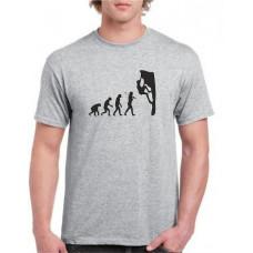 """""""evolution"""" T-krekls vīriešu ar termoapdruku"""