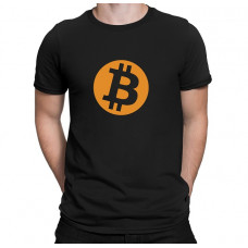 """""""Bitcoin"""" T-krekls vīriešu ar termoapdruku"""