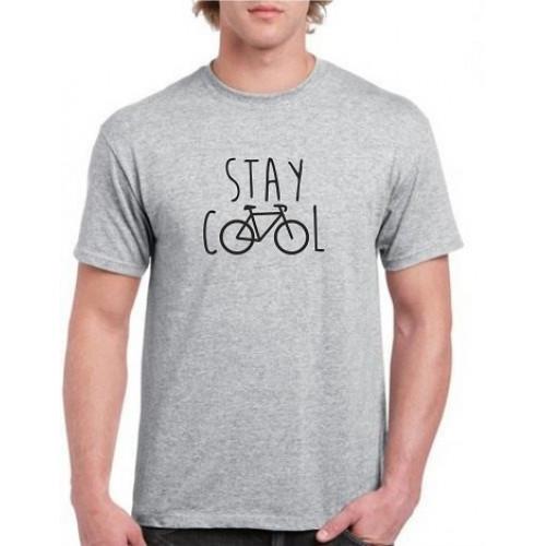 """""""Stay cool""""  Футболка мужская"""