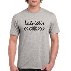 """""""Latvietis"""" T-krekls vīriešu ar termoapdruku"""