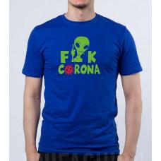 """""""Fuck Corona"""" T-krekls vīriešu ar termoapdruku"""