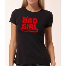 """""""Bad Girl"""" sieviešu T-krekls"""