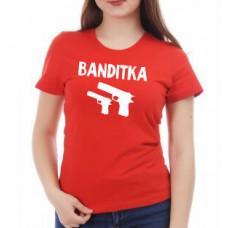 """""""Banditka"""" sieviešu T-krekls"""