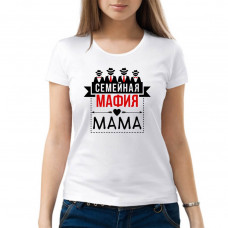 """Семейная мафия Мама"" sieviešu T-krekls"