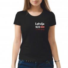 """""""Latvija 100 - Es esmu Latvija"""" sieviešu T-krekls"""