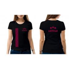 """""""Latvija"""" sieviešu T-krekls"""