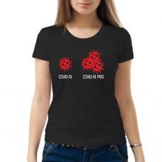 """""""Covid-19"""" sieviešu T-krekls"""