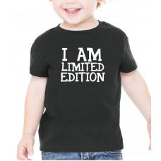 """""""I am Limited Edition"""" T-krekls bērnu ar termoapdruku"""