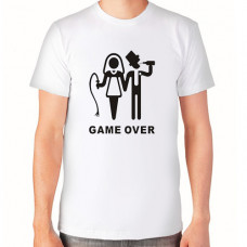 """""""Game Over"""" T-krekls vīriešu ar sublimācijas apdruku"""
