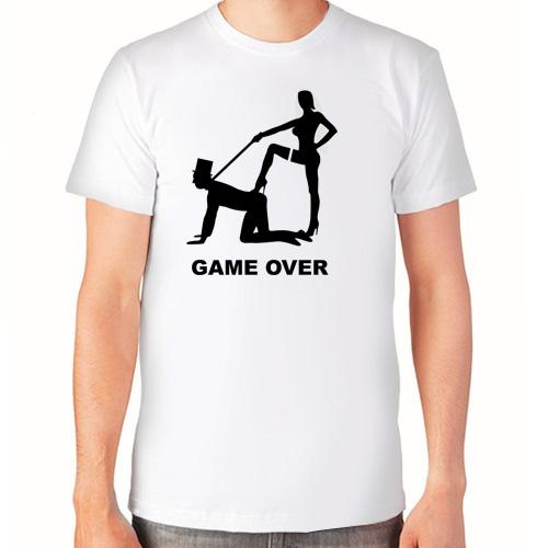 """Game over 2"" Футболка мужская"
