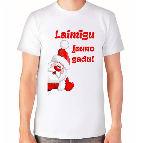 """Laimīgu jauno gadu!""   Футболка мужская"