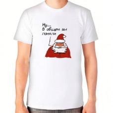 """""""Ну... в общем Вы поняли"""" T-krekls vīriešu ar sublimācijas apdruku"""