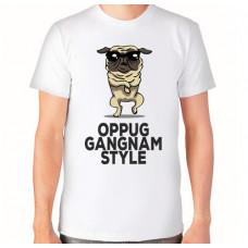 """""""Gangnam Style"""" T-krekls vīriešu ar sublimācijas apdruku"""