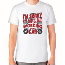"""""""Car"""" T-krekls vīriešu ar sublimācijas apdruku"""