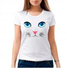 """""""Киска"""" sieviešu T-krekls ar sublimācija apdruku"""