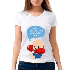 """""""Who called my Mommy fat ?"""" sieviešu T-krekls ar sublimācija apdruku"""