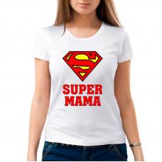 """""""Super Mama"""" sieviešu T-krekls ar sublimācija apdruku"""