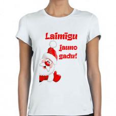"""""""Laimīgu jauno gadu!"""" sieviešu T-krekls ar sublimācija apdruku"""
