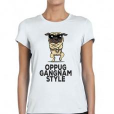 """""""Gangnam Style"""" sieviešu T-krekls ar sublimācija apdruku"""