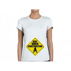 """""""Baby under construction"""" sieviešu T-krekls ar sublimācija apdruku"""